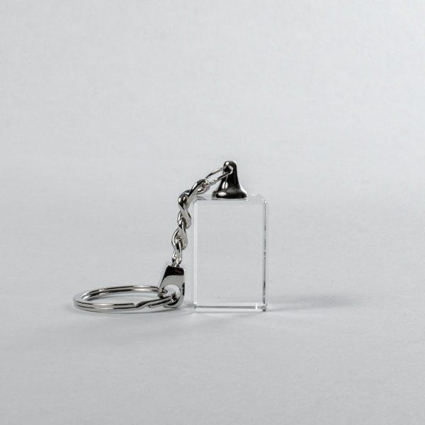 Schlüsselanhänger 30x20x15mm mit Foto oder Text
