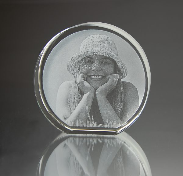 Foto im Rundbogenglas